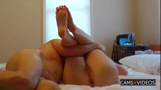 Legs Spread After Sex Hidden Cam