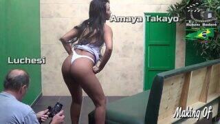 Making of com  Amaya Takayo atriz , produção Rubens Badaró. ( Vídeo completo no Xvideos Red )